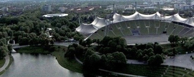 Olympiapark und Olympiasee