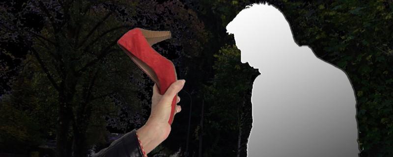 © Die Frau soll den Angreifer mit ihren Schuhen vertrieben haben.