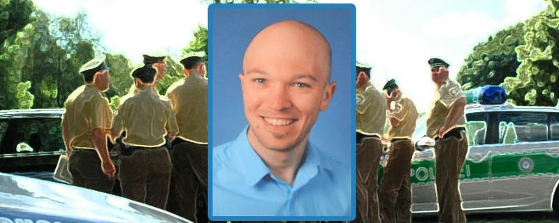 © Mit einem Foto des Vermissten hofft die Polizei auf Hinweise.