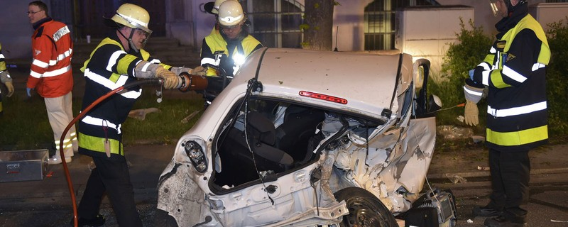 Laim: Schwerer Verkehrsunfall, © Berufsfeuerwehr München