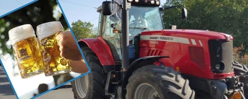 Nach Unfall: 21-Jähriger schleppt nach Alkohlfahrt sein Auto mit dem Traktor ab, © Nach Unfall: 21-Jähriger schleppt nach Alkohlfahrt sein Auto mit dem Traktor ab