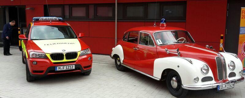 Feuerwehr-Parade