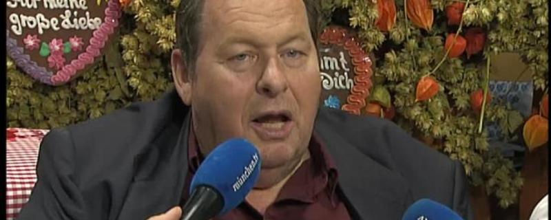 Ottfried Fischer im Interview bei münchen.tv während der Wiesn
