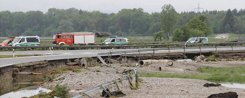 Flutkatastrophe, Unwetter, Regenfälle, Überschwemmung, © Symbolbild