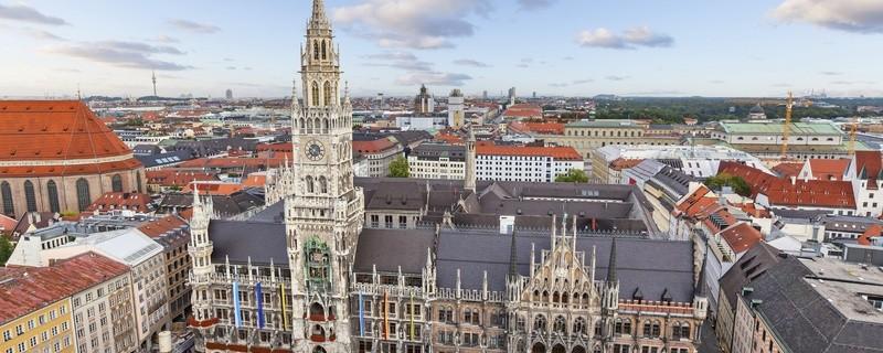 Blick auf München