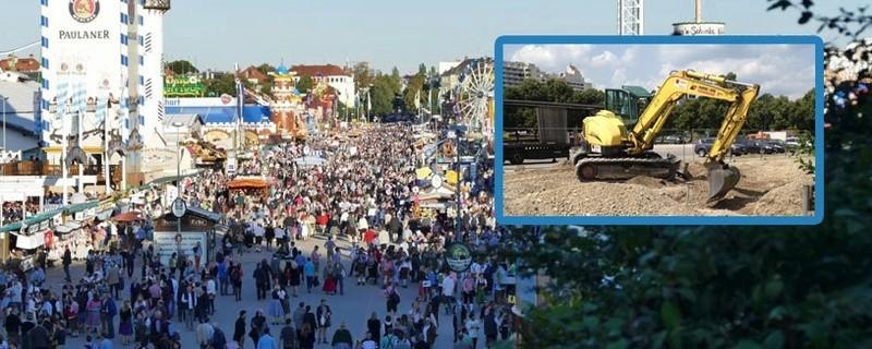 Fürs Oktoberfest: Umbau und Sanierungsmaßnahmen auf der Theresienwiese