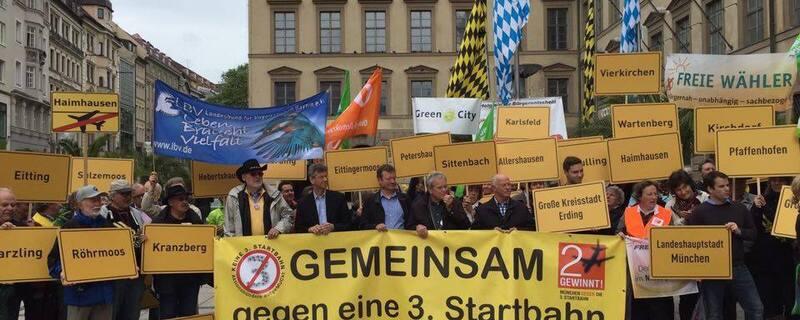 Protest gegen 3. Startbahn