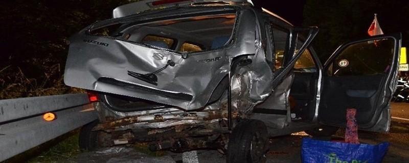 Unfall Staatsstraße, Vier Verletzte, © Foto: Polizei