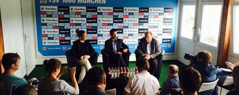 Thomas Eichin, Sportchef, TSV 1860 München, © Thomas Eichin - neuer Sportchef der Löwen