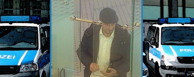 © Die Polizei sucht mit einem Foto nach dem Betrüger.