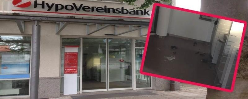 Versuchte Sprengung eines Geldautomaten in Deisenhofen