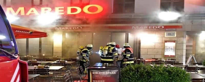Brand in einem Lokal am Fauenplatz, © Foto: Berufsfeuerwehr München