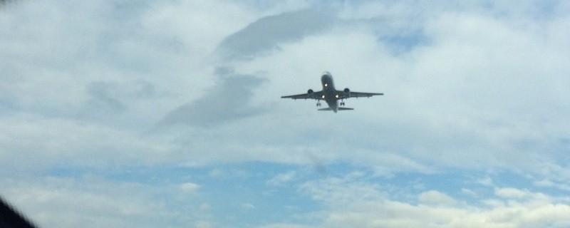 Flugzeug im Anflug, © Symbolfoto