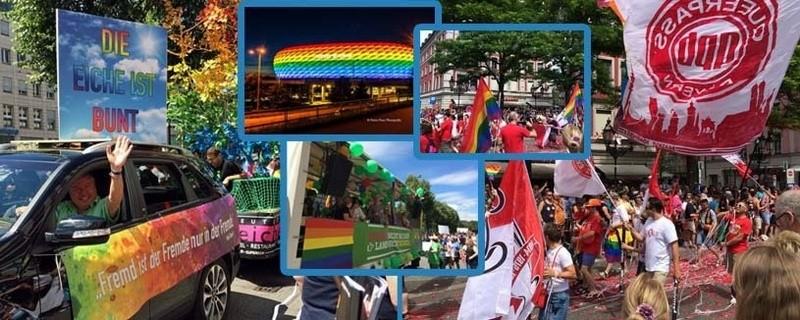 Christopher Street Day 2016 in München (CSD) Bilder, Videos, Nachbericht