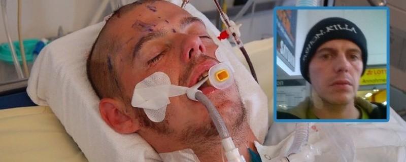 © Mit einem Foto des Opfers hofft die Polizei auf Hinweise zu der Schlägerei
