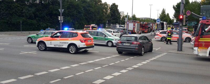 Hunderte Einsatzkräfte und Polizisten nach Schießerei in München