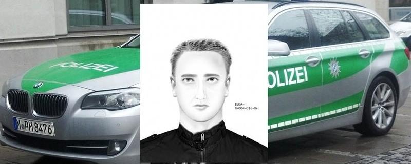 Phantombild des unbekannten Täters, © Phantombild des unbekannten Täters (Foto: Polizei)
