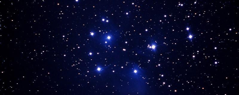 Sterne am Nachthimmel