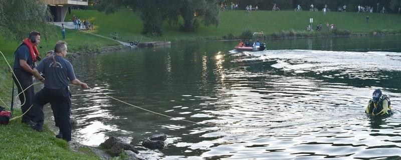 Badeunfall im Lerchenauer See, © Foto: Berufsfeuerwehr München
