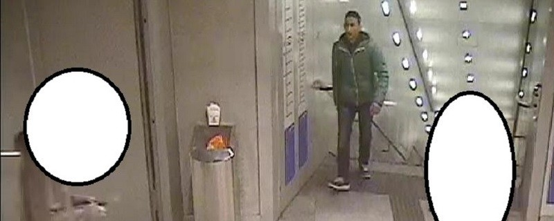 Die Aufnahmen einer Überwachungskamera zeigen den Gesuchten., © Foto des mutmaßlichen Täters zur Öffentlichkeitsfahndung. Foto: Polizei