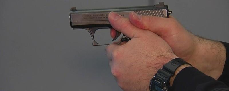 Mann mit Pistole, © Symbolfoto