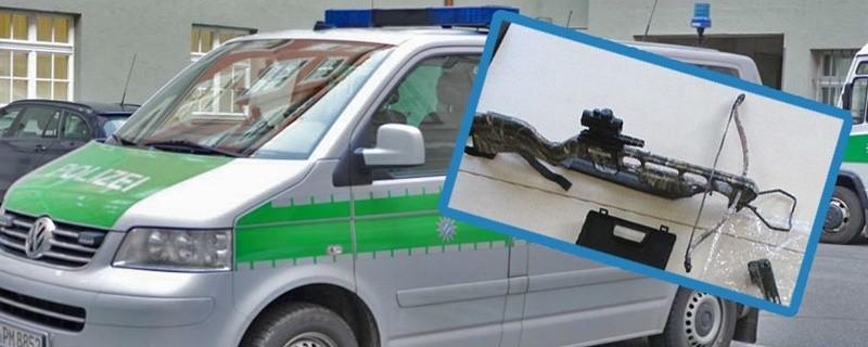 Die Polizei ermittelt nach einem Angriff mit einer Armbrust