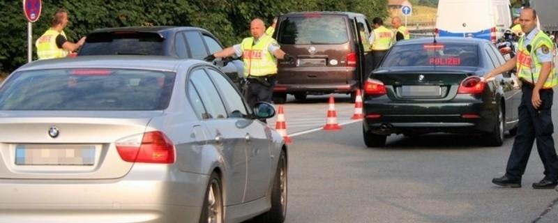 Bundespolizei kontrolliert Grenzen, © Bundespolizei kontrolliert Grenzen - Symbolfoto