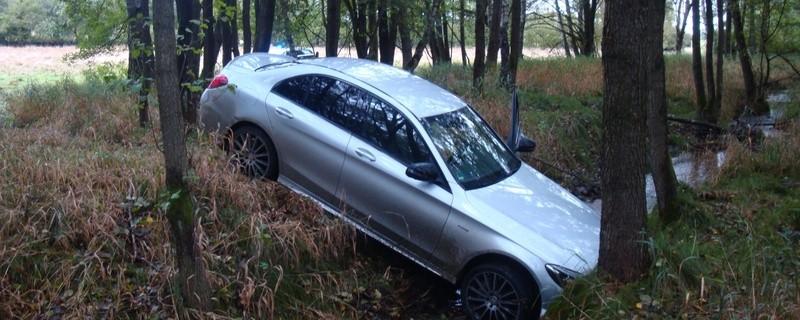 Der gestohlene Mercedes C450., © Foto: Bundespolizei