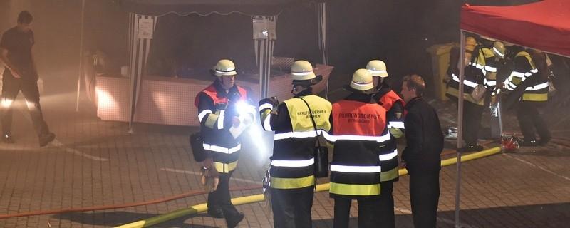 Rauchentwicklung in der Hauptfeuerwache, © Foto: Berufsfeuerwehr München