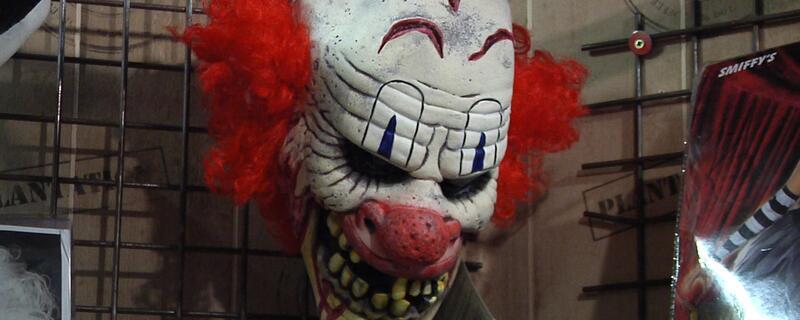 Eine Horror-Clowns-Maske , © Eine Horror-Clowns-Maske