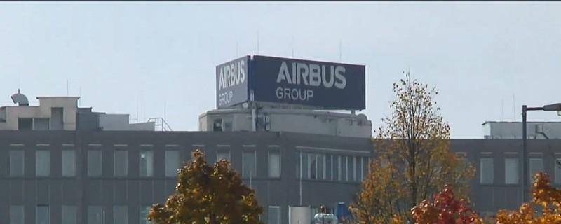 Airbus Unternehmenssitz in Ottobrunn bei München
