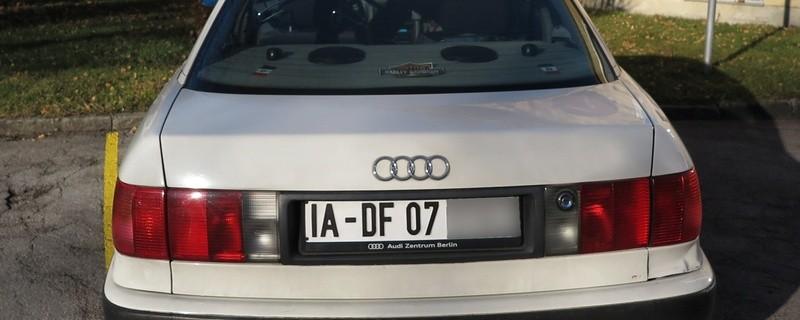 """© Mit diesem Kennzeichen wurde der """"Reichsbürger"""" erwischt."""