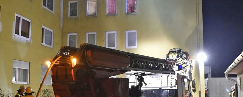 Der Brand in der Wohnung in Pasing., © Foto: Berufsfeuerwehr München