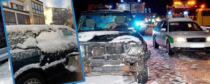 Auto, Schnee, Flensburg, Polizei, Punkte, © Symbolbild