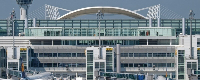 Münchner Flughafen bei gutem Wetter, © Flughafen München