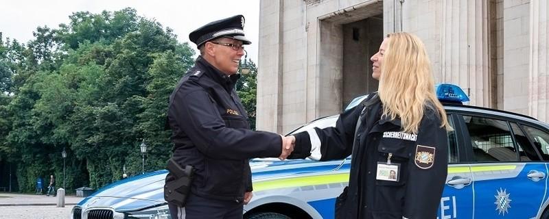 Die Sicherheitswacht der Münchner Polizei braucht Verstärkung., © Foto: Polizei