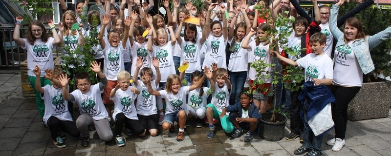 Die Kinder der Plant-for-the-Planet-Akademie in München pflanzen Bäume zur Bekämpfung der Klimakrise., © Kinder der Plant-for-the-Planet-Akademie in München. Foto: Plant-for-the-Planet