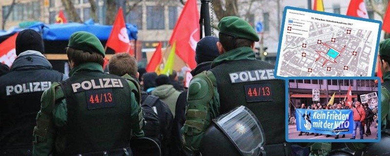 Grafik Sperrungen - Alle Infos zur Sicherheitskonferenz in München