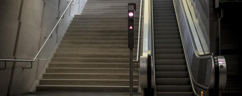 Rolltreppe an U-Bahn Station, © Symbolbild