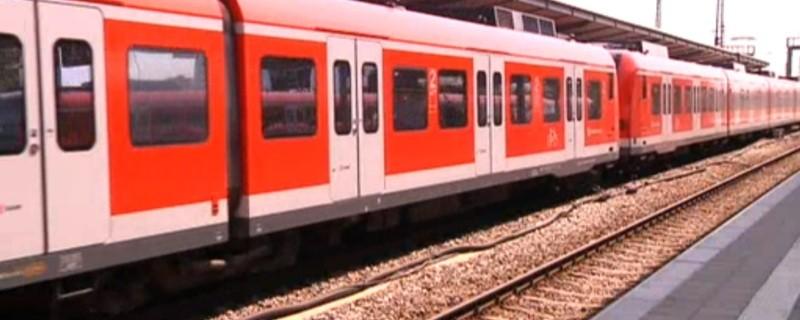 Münchner S-Bahn auf den Gleisen, © Symbolfoto