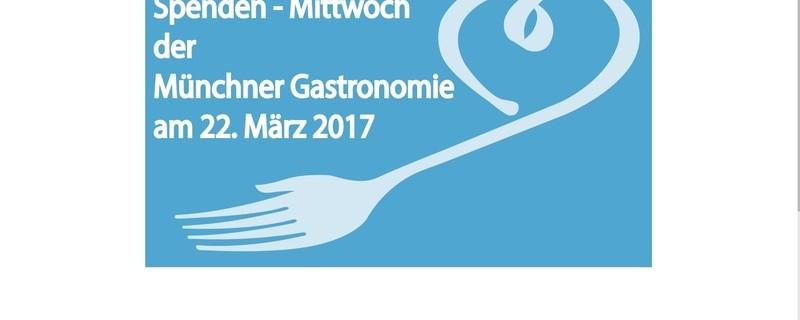 spendenmittwoch der münchner gastronomie unterstützt von unicef, © unicef