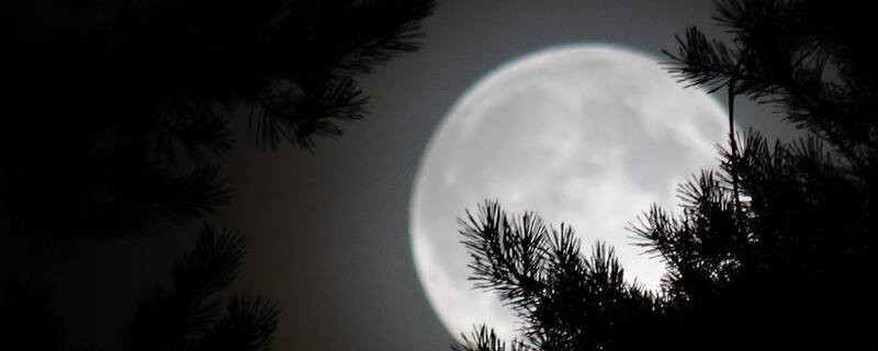 Mond, Supermond, Himmel, Freinacht
