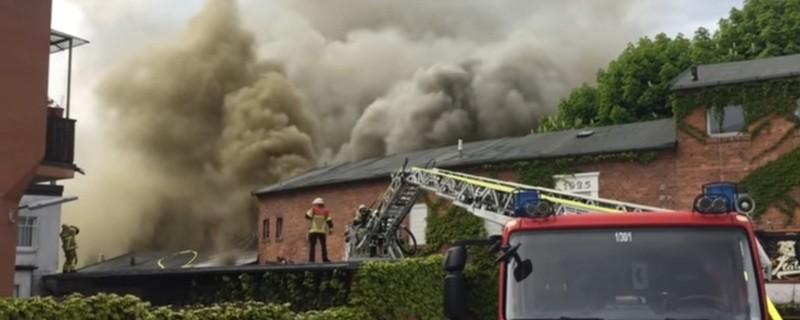 Nach Disko Großbrand In Bayreuth übernehmen Die Brand