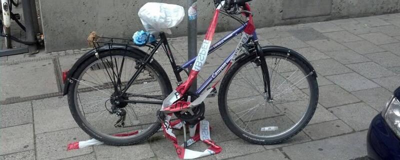 Fahrrad Polizei Unfall München