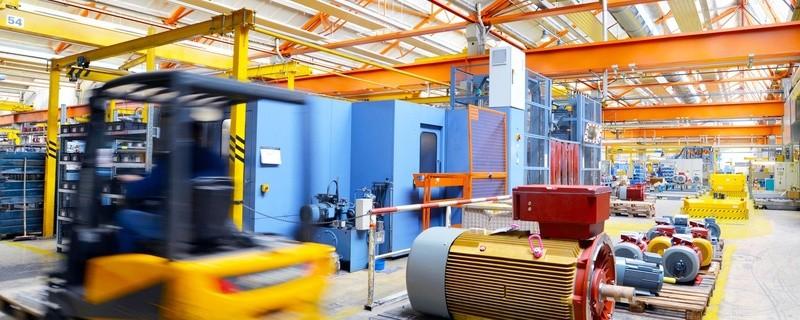 Baustelle mit Baufahrzeugen, © Foto: Fotolia, industrieblick