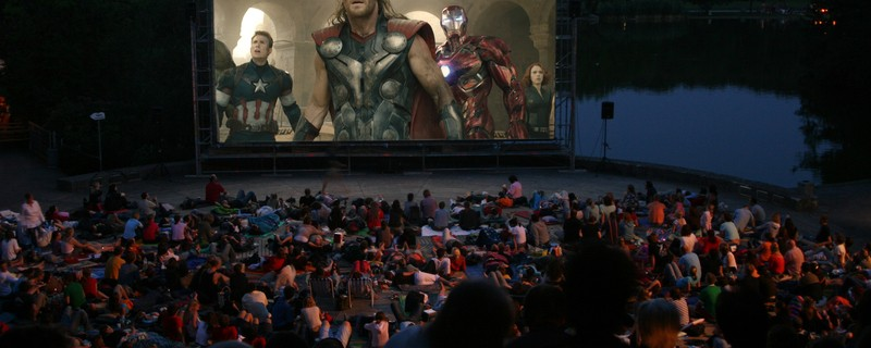 Open-Air Kino: Kino Mond & Sterne am Westpark zeigt die Avengers, © Foto: Kino, Mond & Sterne