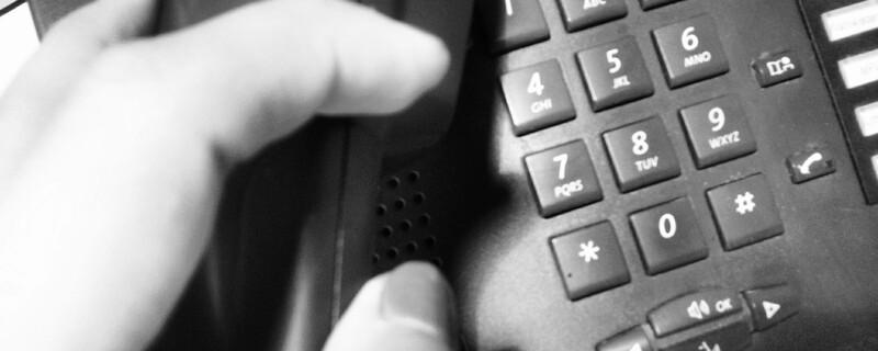Anruf über das Telefon, © Immer mehr Betrugsdelikte geschehen über das Telefon.