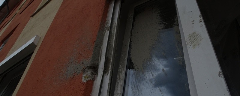 Betonschaden an Fenster, © Foto: Polizeiinspektion Germering