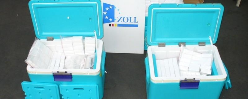 Kühlboxen mit Dopingmitteln