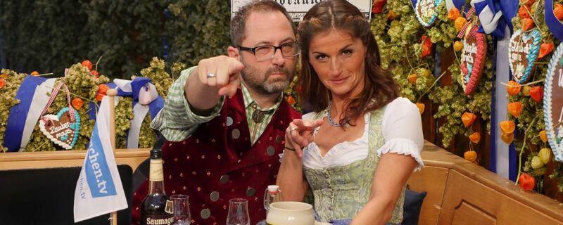 Oktoberfest - Livesendung von münchen.tv